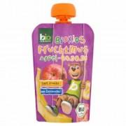 Bio zentrale gyümölcs püré alma-banán, 90 g