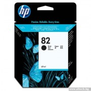 HP 82 PEGASUS, Black Ink Cartridge, 69-ml (CH565A)
