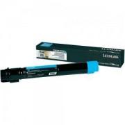 Тонер касета за Laser Toner Lexmark for C950 - 22 000 pages Cyan - C950X2CG