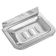 SHRUTI (Saloni) Heavy Duty Premium Single Square Soap dish / Soap Case / Soap Holder / Soap tray / Soap Rack for Multi Bathroom Accessories 1687A