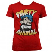 Brutos - Party Animal Girly T-Shirt