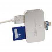 EY USB3.0 Y Micro USB 2 En 1 Interfaz USB De Seguridad Lector De Tarjetas De Memoria Digital-Genérico