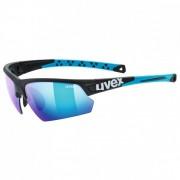 Uvex Sportstyle 224 Mirror S3 Occhiali da sole turchese/blu/grigio/nero