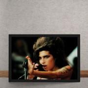 Quadro Decorativo Amy Winehouse Close 25x35