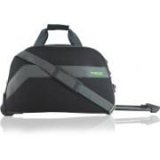 timus BOLT 55 CM BLACK 2 WHEEL DUFFLE FOR TRAVEL-CABIN LUGGAGE Travel Duffel Bag(Black)