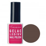 Trosani GeLac LED/UV Nail Polish Darkside Brown (25), 10 ml