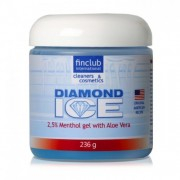 Żel chłodzący do masażu Diamond Ice 2,5% mentolu + aloe vera - FINCLUB