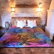 Buddhás ágytakaró