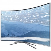 "Samsung 55"" 55KU6502 4K CURVED LED TV, SMART, 1600 PQI, QuadCore, DVB-TCS2(T2 Ready), Wireless, Network, PIP, 3xHDMI, 2xUSB, Silver"