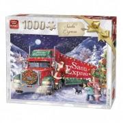 King Puzzel Santa Express (1000)