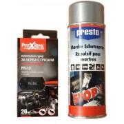 Set: Spray Presto (Franța) 400 ml + Aparat cu ultrasunete împotriva rozătoarelor pentru autovehicule 20 de mp