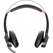 Plantronics Voyager Focus UC B825-m Cuffie a Padiglione senza Stand con Microfono Nero