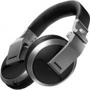 Pioneer HDJ-X5 Auscultadores DJ Prateados