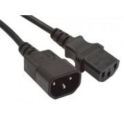 Monitor Tapkabel 220V (tapkabel hosszabbito C13 to C14) 3m