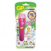 Lanterna Discovery GP, 1 x AAA, LED, Roz
