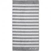 JOOP! Toallas Classic Stripes Toalla de ducha plata 80 x 150 cm 1 Stk.