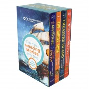 OUP Oxford Oxford Children Classics World of Adventure 4 Books Set - Age 9-11 - Paperback