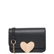 ONLY Heart Crossbody Bag Kvinna Svart