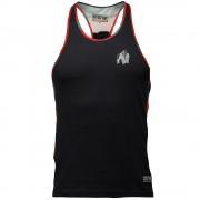 Gorilla Wear Sacramento Camo Mesh Tank Top - Black/Red - M
