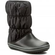 Cizme de zăpadă CROCS - Winter Puff Boot 14614 Black/Charcoal
