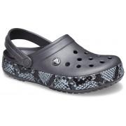 Crocs Crocband™ Snake Print Klompen Unisex Graphite / Black 37
