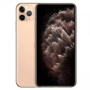 Смартфон Apple iPhone 11 Pro, 5.8-инчов екран (2436x1125), Apple A13 Bionic, TOF 3D camera, 256GB, IP68, Gold, MWC92GH/A