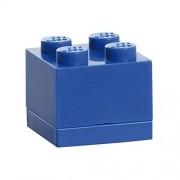 Lego Lunch System Mini Caja 4, Panera, Caja de Pan, Azul, RC40111731