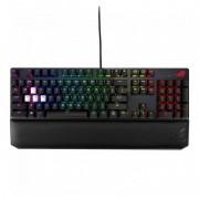 Asus Rog Strix Scope Deluxe Teclado Mecânico Gaming RGB Cherry MX Red