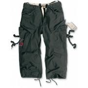 SURPLUS 3/4-es férfi rövidnadrág - Vintage - Fekete - 07-5597-63