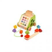 Munchkinz Multifunction Pull Along Telephone Shape Sorter Wooden Toy