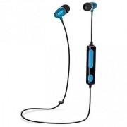 iTD Gear Metal Bullet In Ear Bluetooth Wireless Stereo Headphones (Blue)