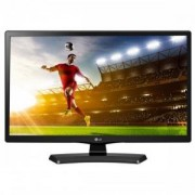Монитор, LG 20MT48DF-PZ, 19.5 инча, Wide LED Anti-Glare, 5ms GTG, 1000:1, 5000000:1 DFC, 200cd/m2, 1366x768, HDMI, Scart, TV Tuner