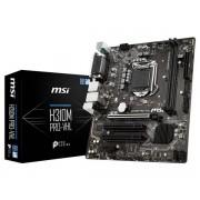 MSI H310M PRO-VHL LGA 1151 (Presa H4) Intel® H310 micro ATX