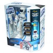 Robot inteligent cu telecomandă, 50 de acţiuni programabile, 20 de expresii faciale