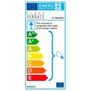 Linea Verdace Leeslamp Carbon - H180 Cm - Carbron/Chroom