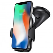 Joway 10W Qi Fast Wireless Charger Car Suction / Air Vent Mount Holder