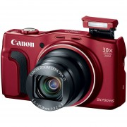 Cámara Digital PowerShot SX700 HS - Wi-Fi Habilitado -Rojo