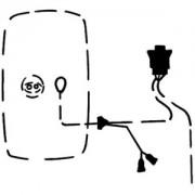Elektroleitung, Außenspiegel
