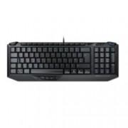Клавиатура ROCCAT Arvo, гейминг, 3 допълнителни програмируеми бутона, черна, USB