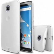 Skin Ringke Eco Slim Motorola Nexus 6 White + Folie
