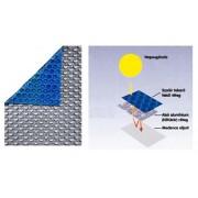 Pontaqua hőtükrös szolártakaró fólia szögletes medencéhez 3m x 6m 300 mikronos DLX SZT 051