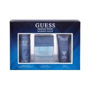 Guess Seductive 100Ml Edt 100 Ml + Shower Gel 200 Ml + Deodorant 226 Ml Per Uomo