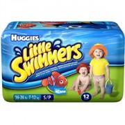 Fralda Little Swimmers Unissex Pequena c/ 12 Unidades