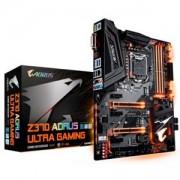 Дънна платка GIGABYTE Z370 AORUS Ultra Gaming, Socket 1151 (300 Series), 4xDDR4, RGB Fusion, GA-MB-Z370 AORUS Ultra Gaming