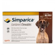 Simparica Chewables For Dogs Above 88 Lbs (Red) 3 Pack