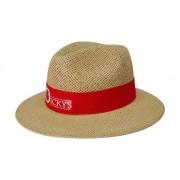 Headwear Professional Madrid Style String Straw Cap S4284