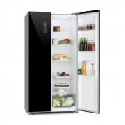 Klarstein Grand Host L, Комбиниран хладилник с фризер, стъклена врата, черен (HEA9-GrandHost-L)