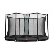 Studsmatta BERG InGround Favorit Grey 430 + skyddsnät Comfort