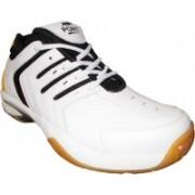 Port Spark Badminton Shoes For Men(White)