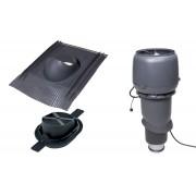 Vilpe 1003 ECO tetőventilátor szett páraelszívókhoz - szürke